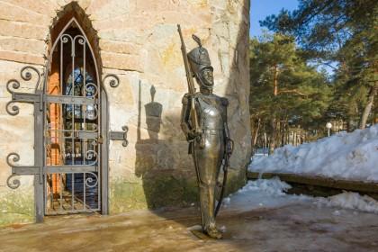 Фрагмент детского городка Андерсенград в Сосновом Бору