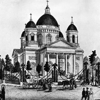 Спасо-Преображенский собор в СПб, XIX век