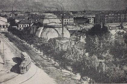 Смольный район у Таврического сада, начало XX века в СПб