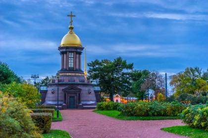 Часовня на Троицкой площади в СПб