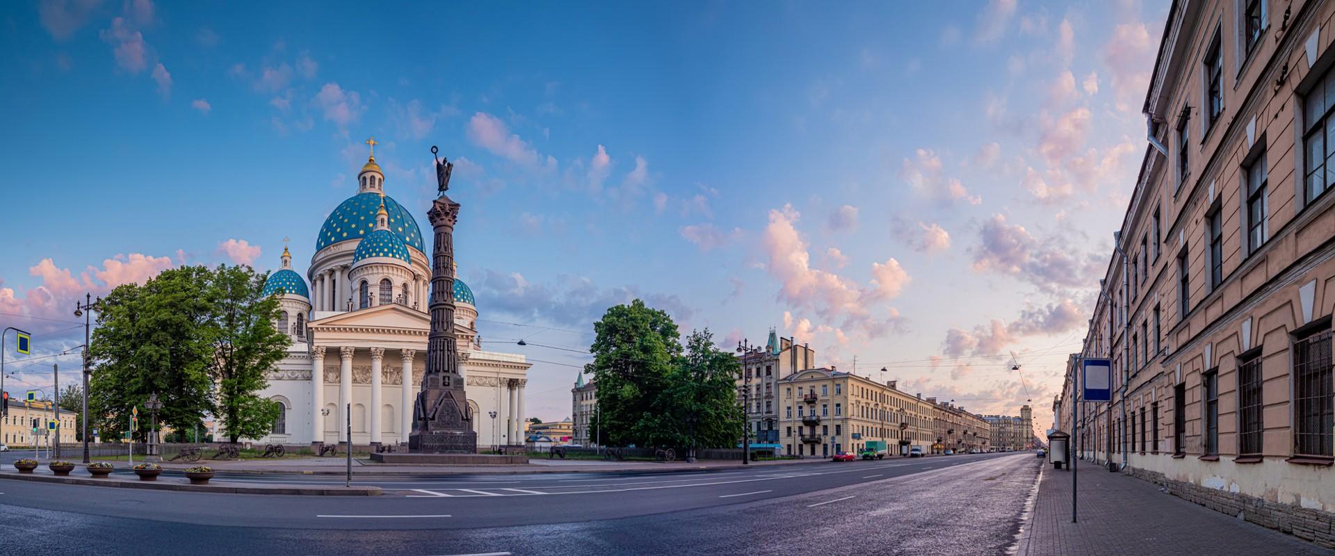 Собор Святой Живоначальной Троицы Лейб-Гвардии Измайловского полка в СПб