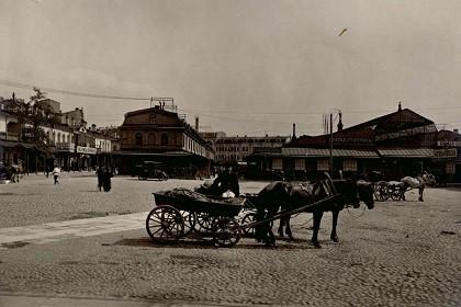 Апраксин двор в 19 веке
