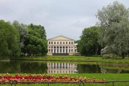 Юсуповский сад в Петербурге