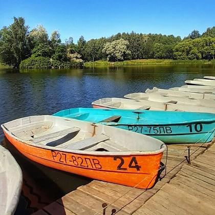 Прокат лодок в Южно-Приморском парке в СПб