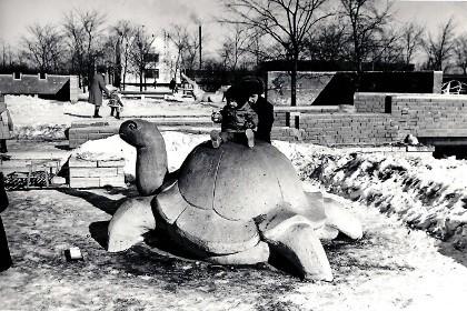 Южно-Приморский парк в СПб в советские годы